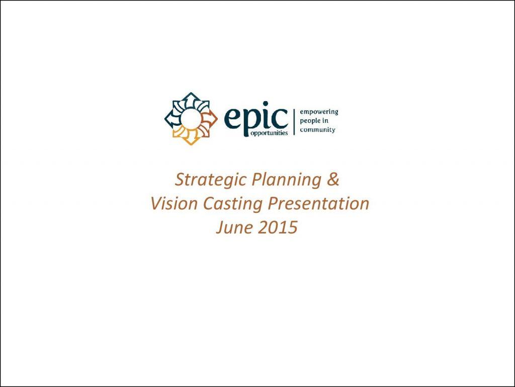 Epic Strategic Plan 2015-cover